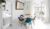 Een wit appartement in het stralende Barcelona