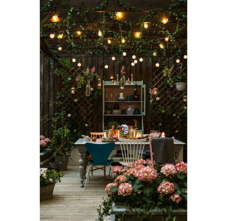 Leuk je tuin op met tuinverlichting