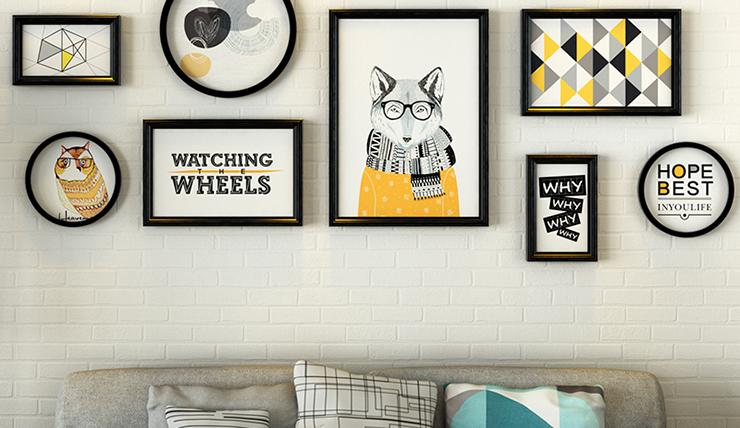Haal de zomer in huis met zomerse prints aan de muur