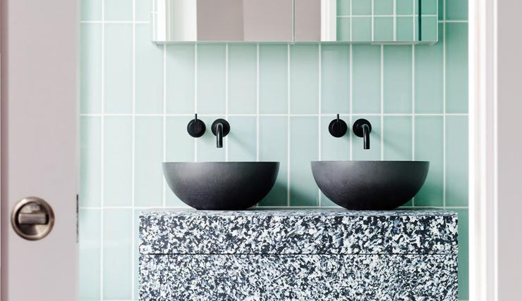 Waarom kies je eens niet voor een blauwe badkamer