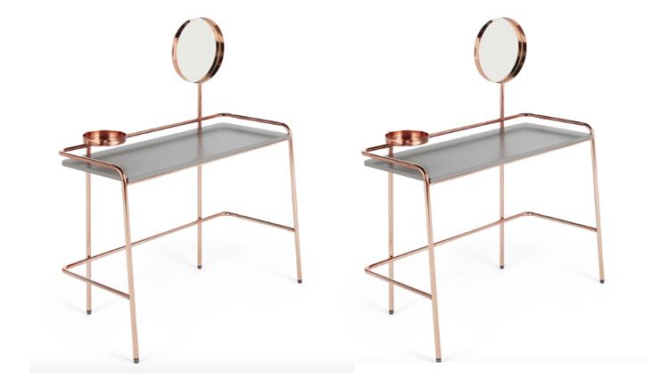 Ideaal voor in je tuthoekje: deze make-up tafel