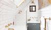 Make-over: van saaie badkamer tot wonderschoon kamertje