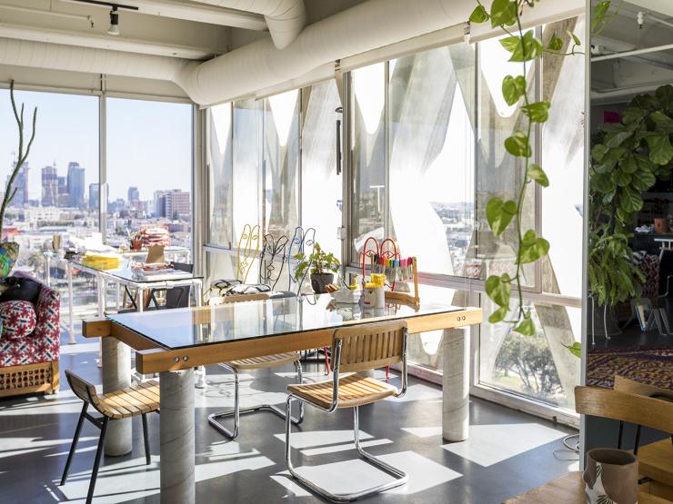 Kunstenaarsloft in L.A met stunning uitzicht en een giraf