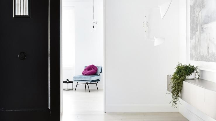 Minimalistisch huis in Melbourne vol met kleur