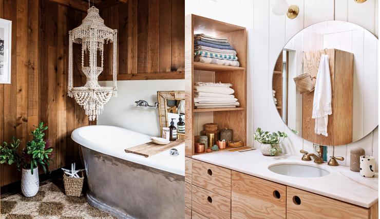 Hout gebruiken in de badkamer? Bij deze tips!