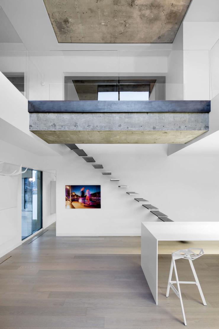 Geen saaie trap? Kies voor een zwevende trap