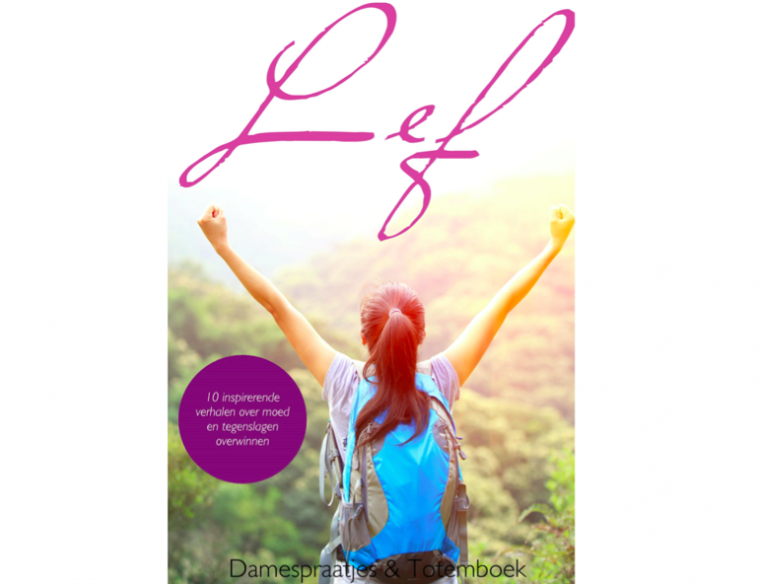 Cover boek lef