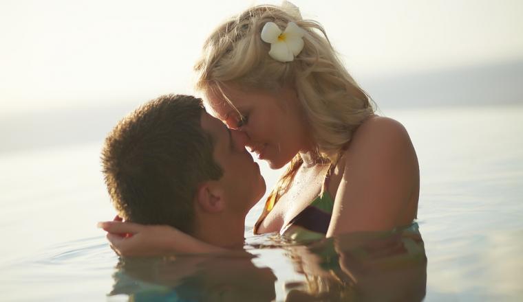 Seks in het water