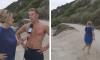 Reporter rent achter knappe surfer aan na interview