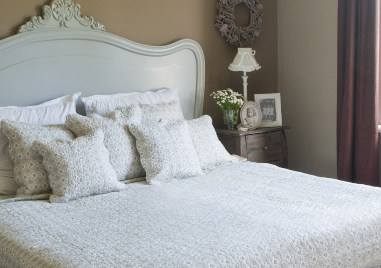 hoe maak je de slaapkamer warm en gezellig voor dit najaar?, Meubels Ideeën