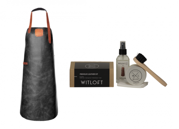 leren-schort-met-leather-care-kit
