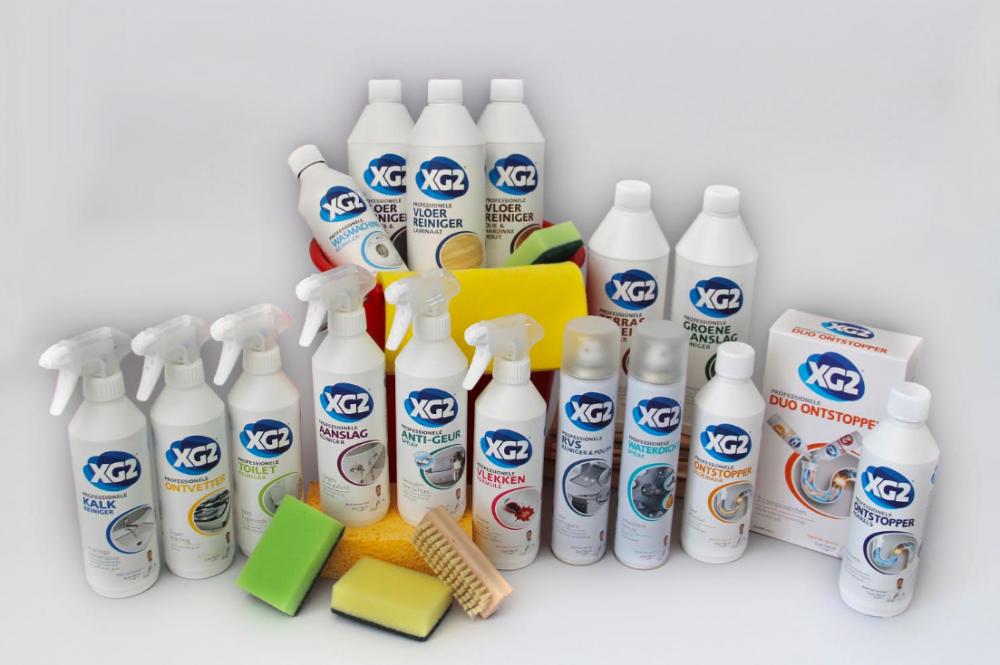 Win een compleet voorjaarsschoonmaak-pakket met producten van XG2!