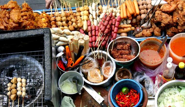 Street food - stock