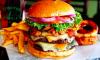 perfecte burger - stock