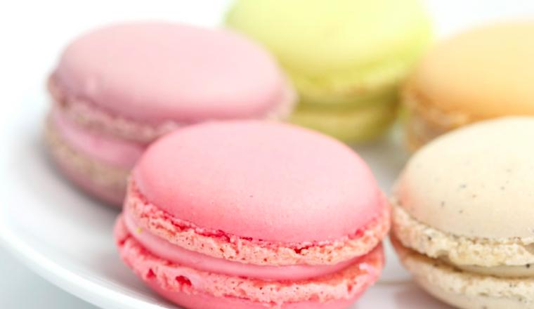macarons - stock