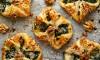 Recept Spinazie-kaas broodjes met walnoten en sesam