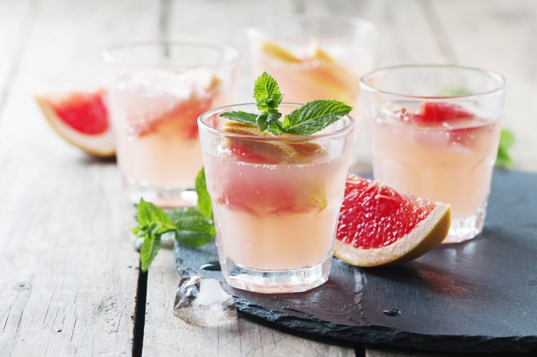 Recept Fruitige Grapefruit Gin-Tonics