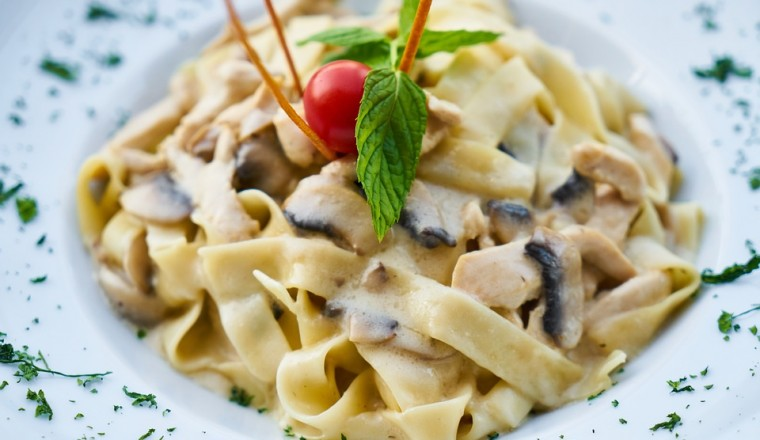 Health Dough Italy Pasta Food Plate Italian