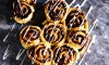 Recept Kaneelbroodjes met walnoten en rozijnen