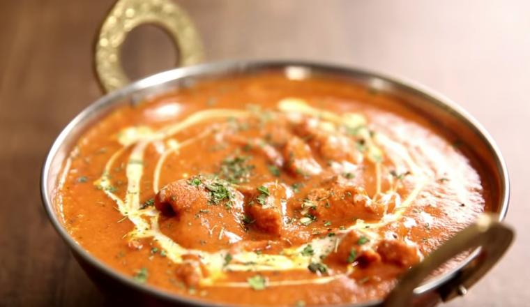 butter chicken recept