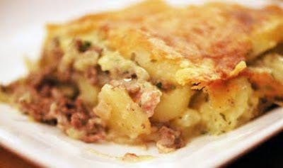 aardappel champignon ovenschotel
