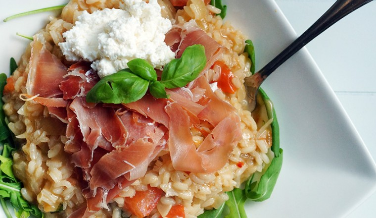 wat eten bij risotto