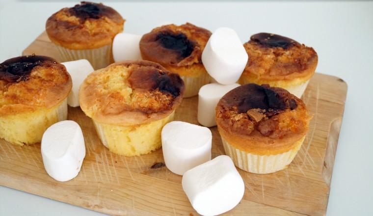Verbazingwekkend Misbaksel: cupcakes met marshmallow-vulling - Gewoon wat een CI-05