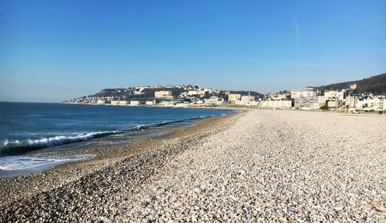 Deze foto is weinig impressive als je de foto's van straks gaat zien. Maar toch: Le Havre is mooi!