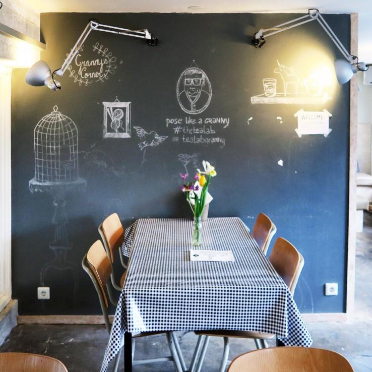 Hotspot: The Tea Lab in Rotterdam