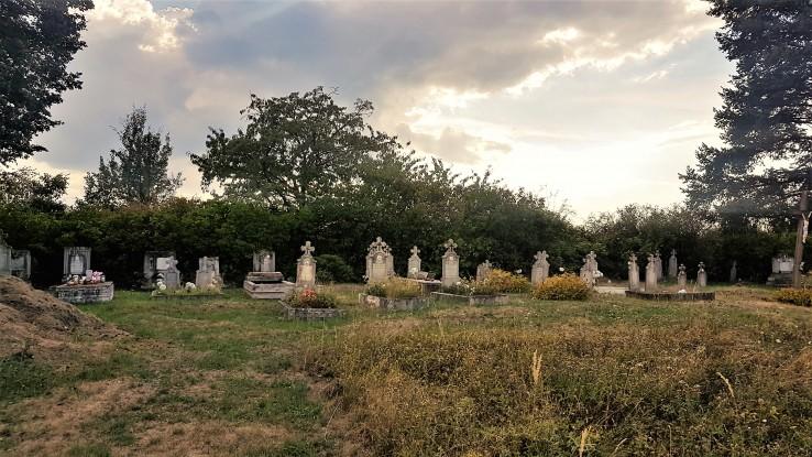 mooie begraafplaatsje op wandeling retreat