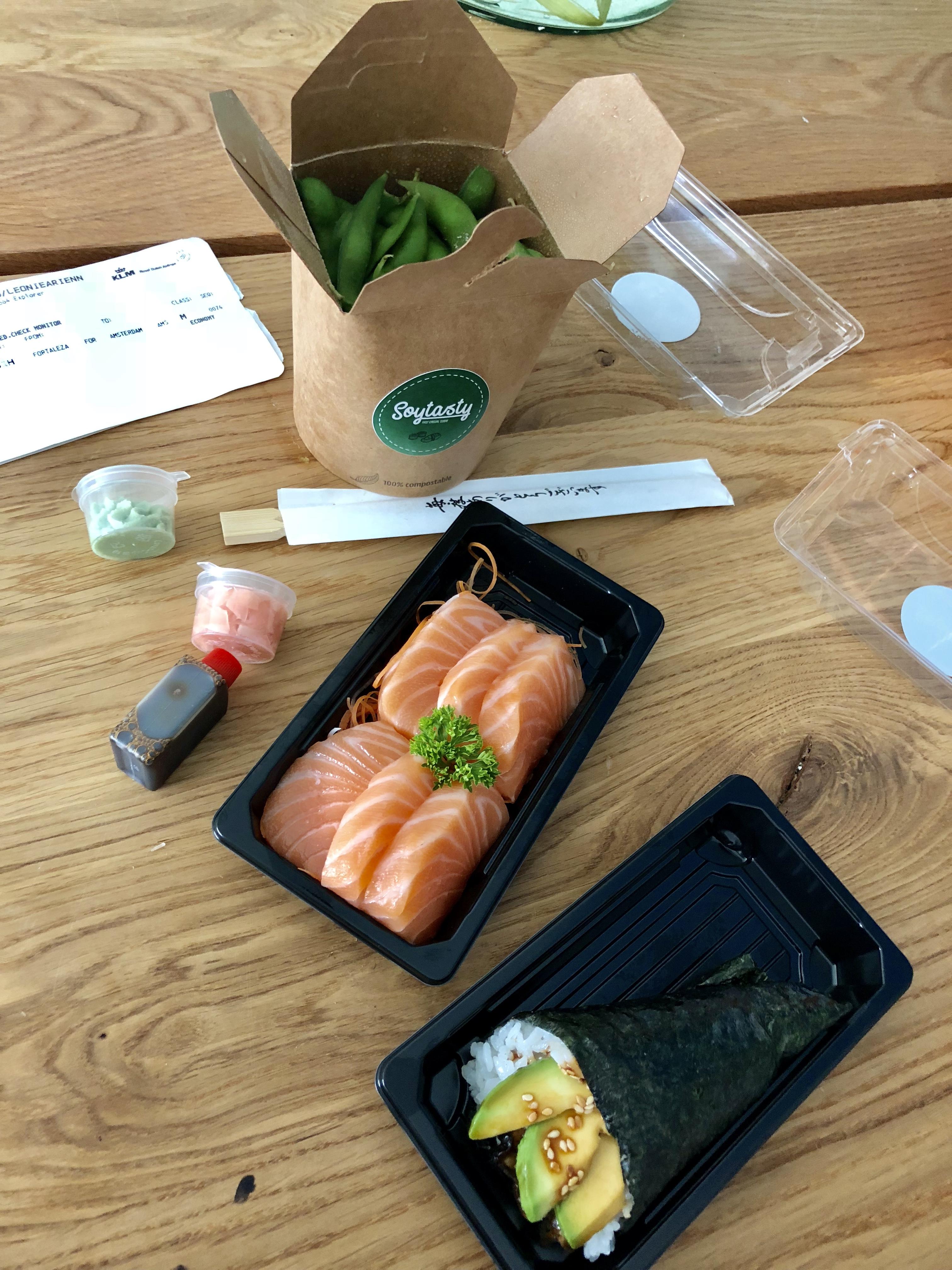 sushi zaterdag