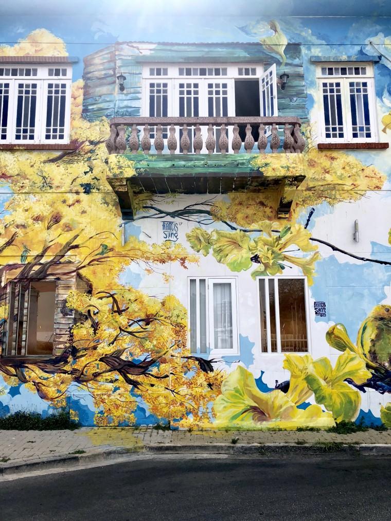 Super mooie street art in Willemstad