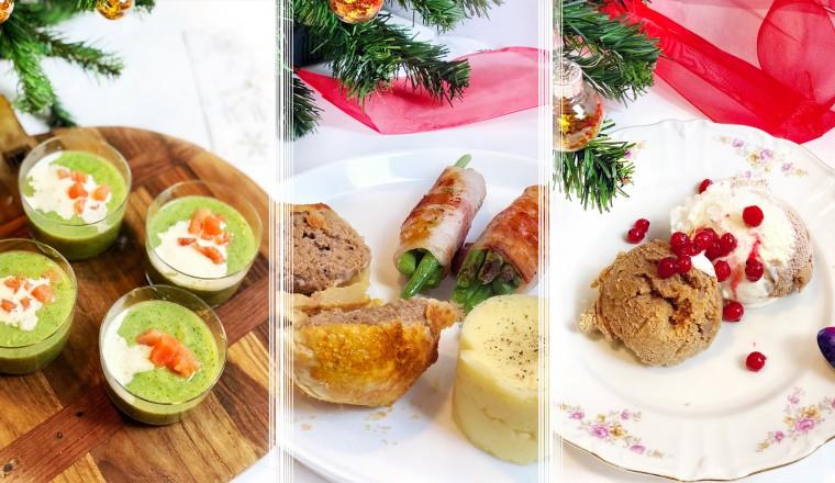 3 gangen menu kerst recepten