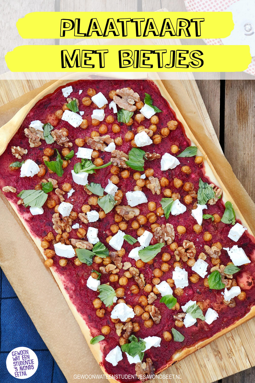plaattaart_bietjes_Pinterest_recepten