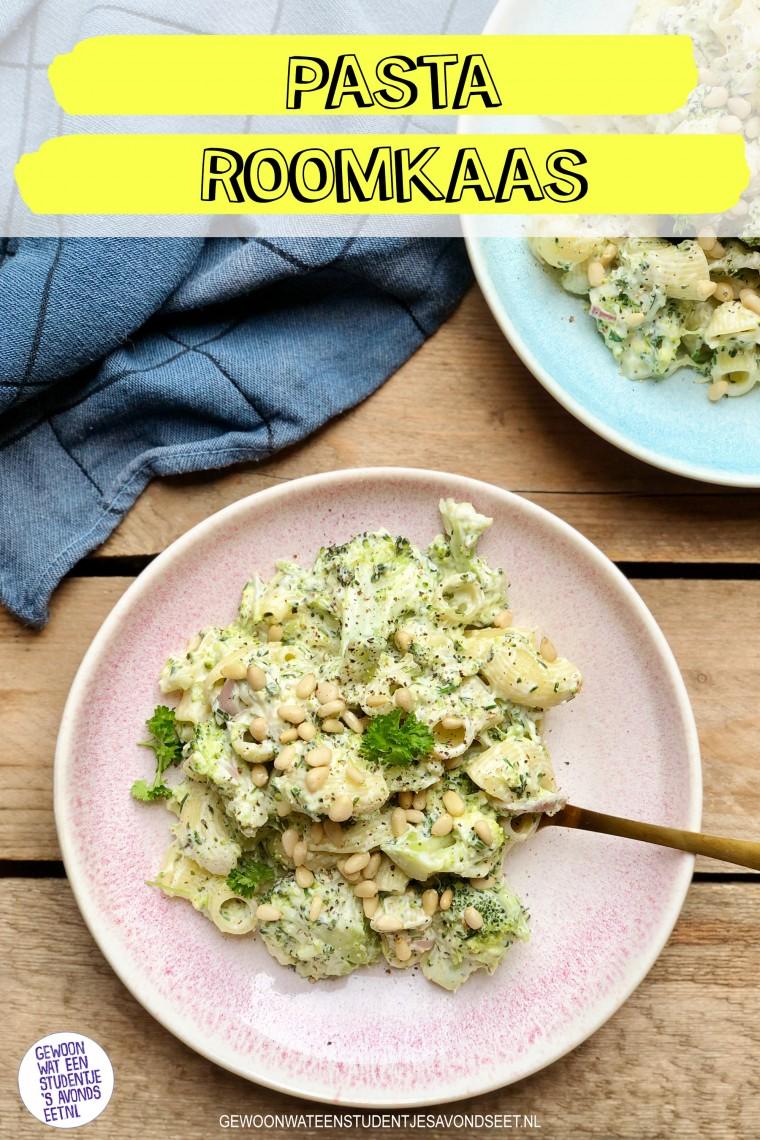pasta_roomkaas_Pinterest_recepten