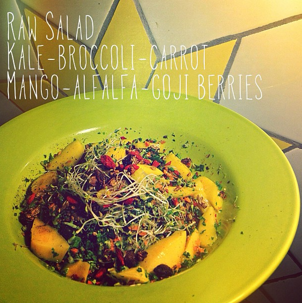 Raw Lunch Salad
