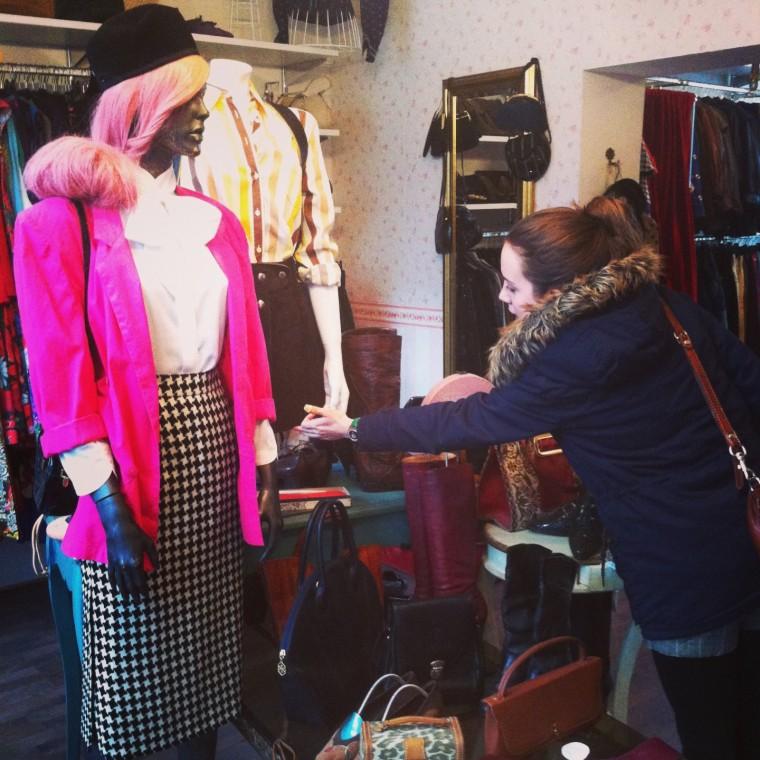 Vintage shopping! @ Polyestershock
