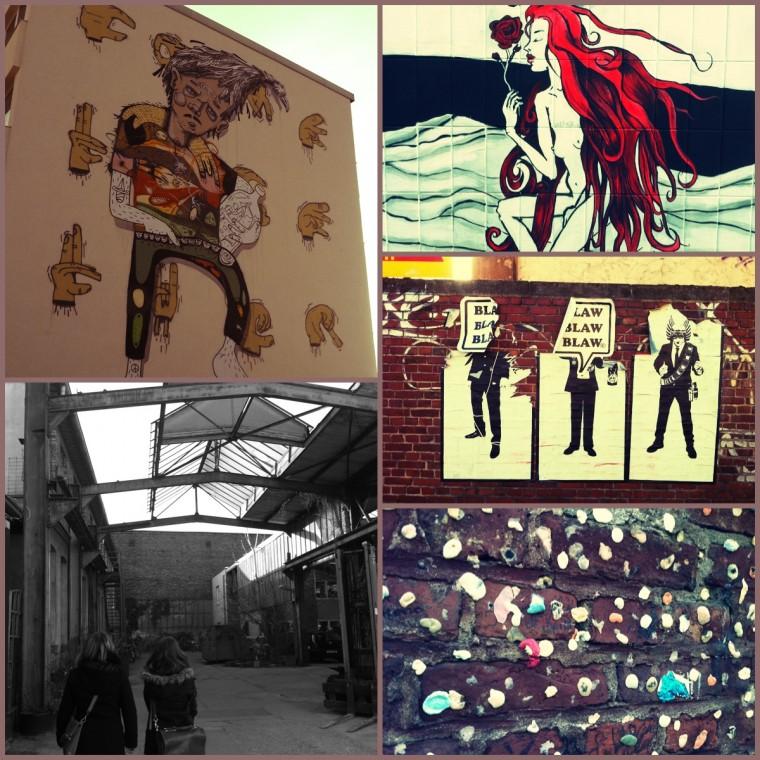 #19: Ehrenfeld.  Bewonder de straatkunst in 'multiculti' stadsdeel Ehrenfeld. Ehrenfeld is volop bezig zich te bewijzen op het vlak van creativiteit en design. Naast leuke winkels, spot je er veel streetart. Iets waar ik enorm van houd.