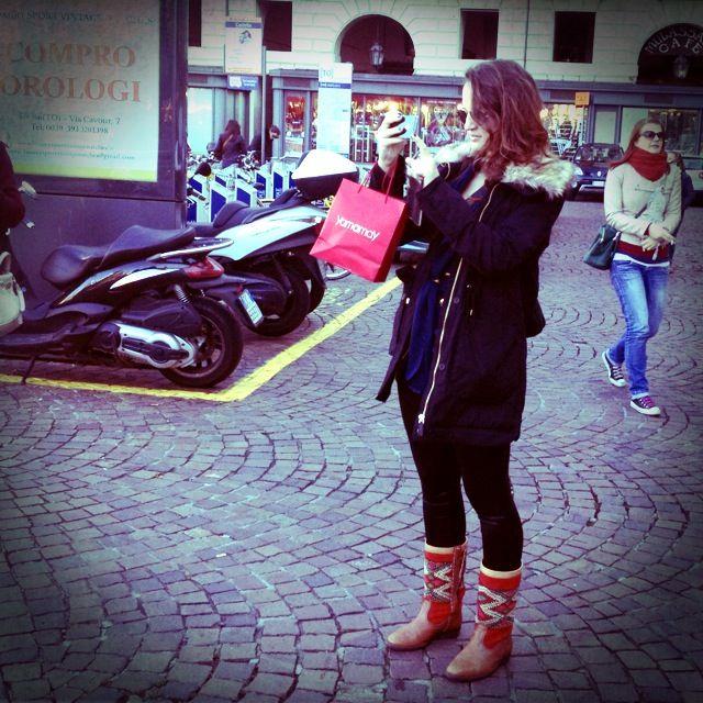 Moderne Hippies in Turijn 2514
