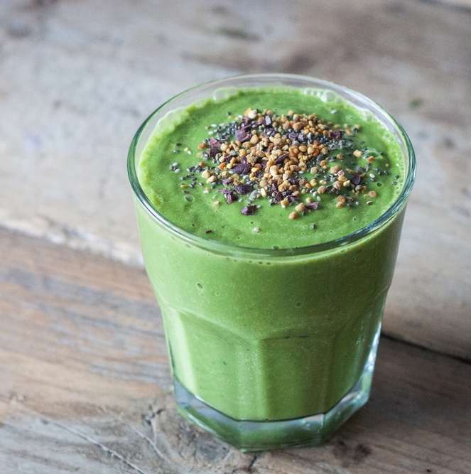 Recept: Smoothie // Avocado & Limoen - Moderne Hippies