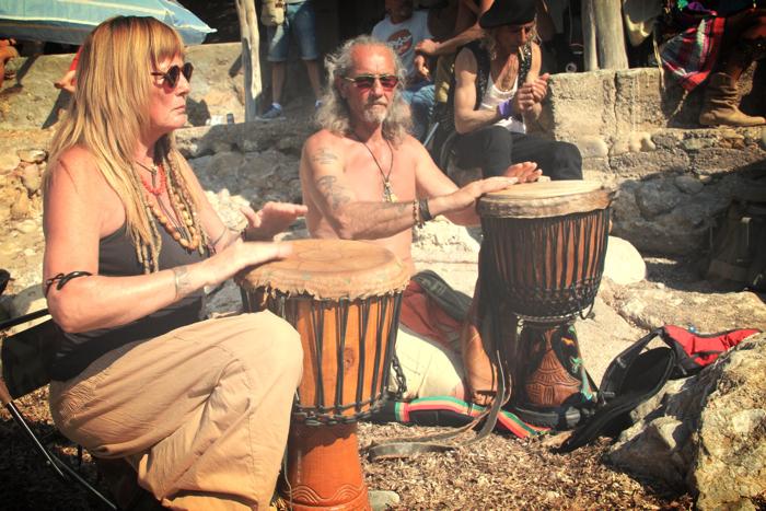 Benirras Beach Ibiza Sunday Drums02