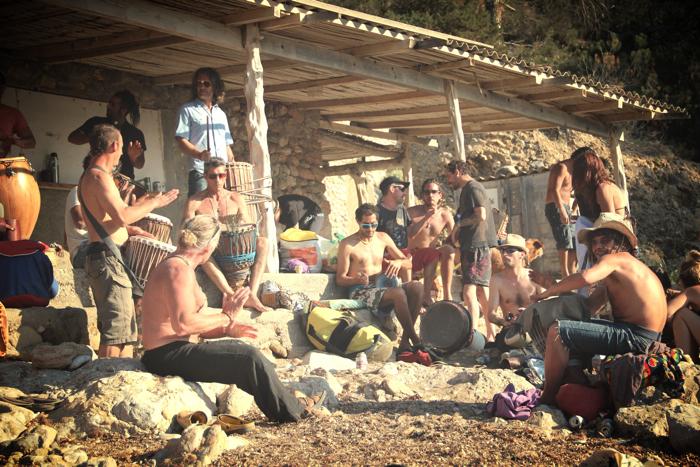Benirras Beach Ibiza Sunday Drums08