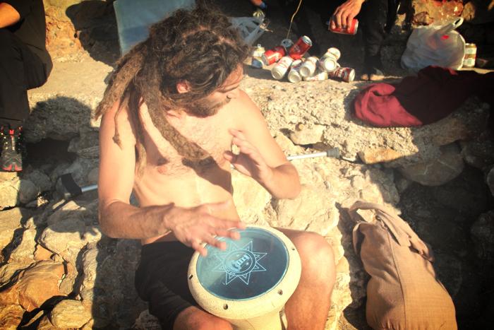 Benirras Beach Ibiza Sunday Drums10