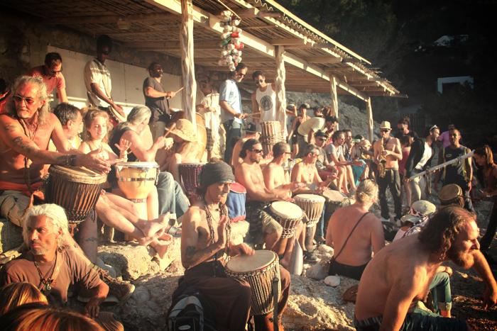 Benirras Beach Ibiza Sunday Drums11