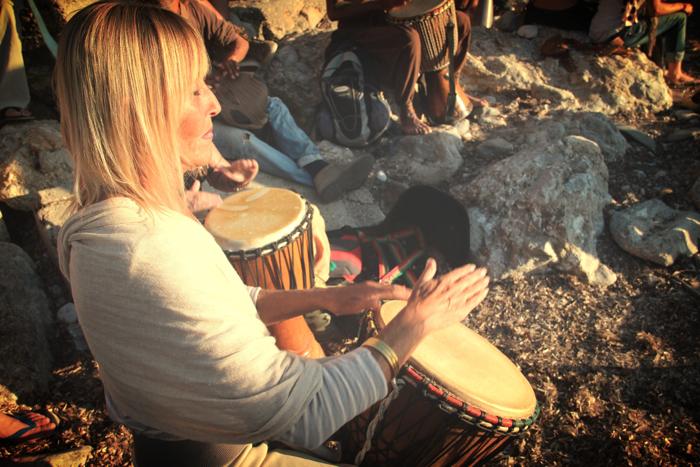 Benirras Beach Ibiza Sunday Drums12