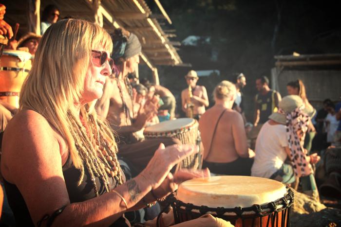 Benirras Beach Ibiza Sunday Drums13