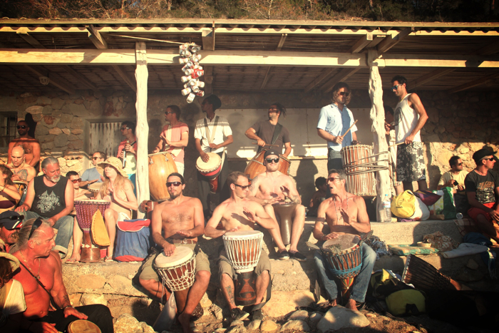 Benirras Beach Ibiza Sunday Drums16