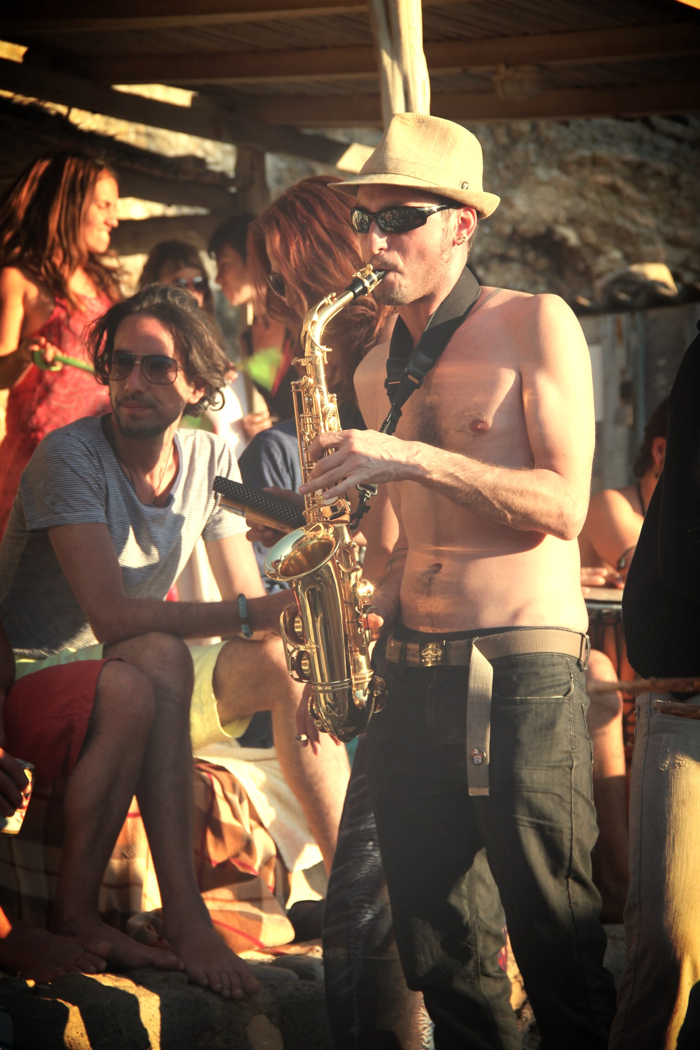 Benirras Beach Ibiza Sunday Drums17