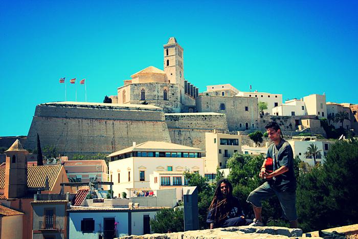 Ibiza-stad overzicht hotspots