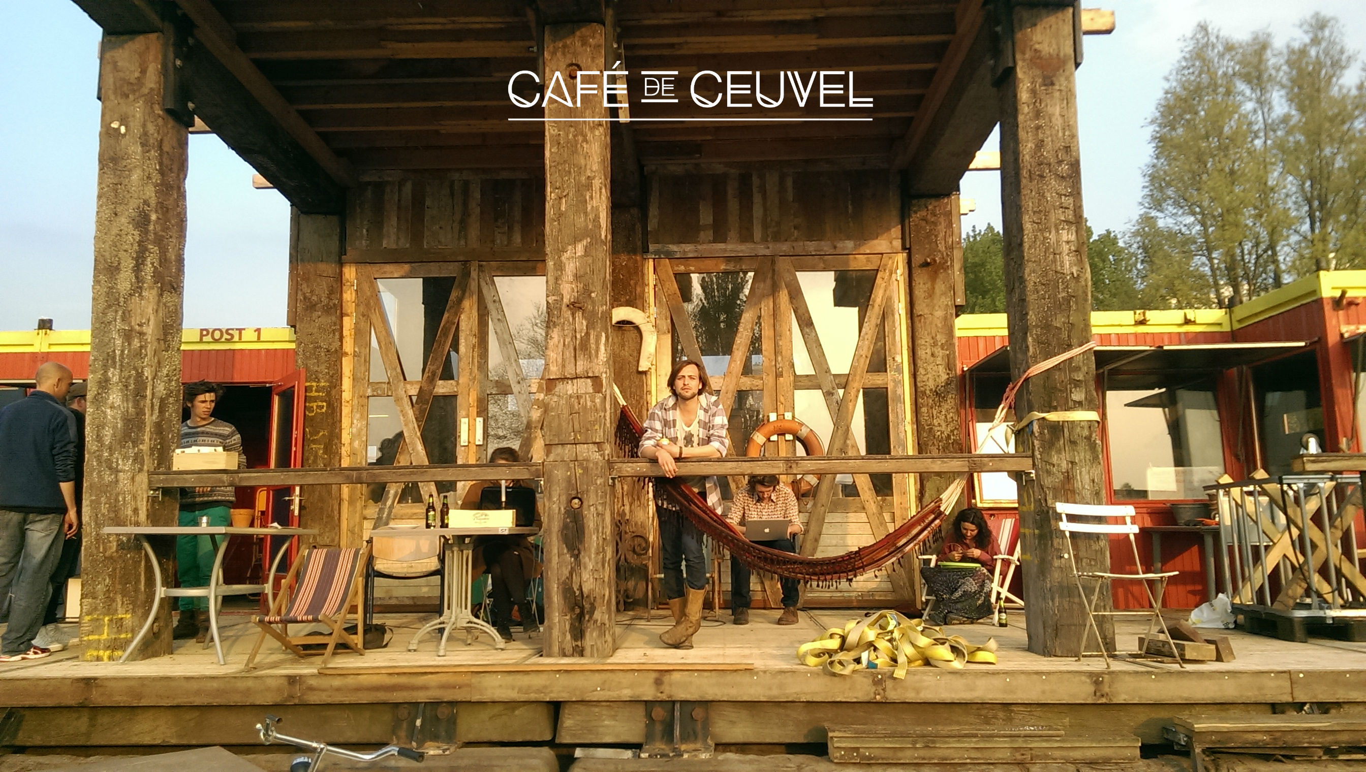 cafe de ceuvel - bart van overbeek